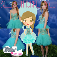 Bella Thorne Doll by MikaStoessel