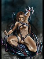 The Witchblade Sara by AngelitaRamos