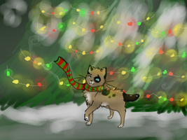 Lynx's Favorite Time of the Year by CopperleafThecat