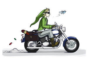 Link's evolution by CorvusRone