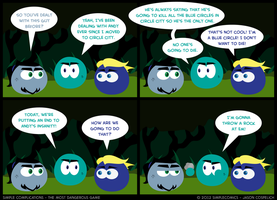 SC212- Most Dangerous Game 12 by simpleCOMICS