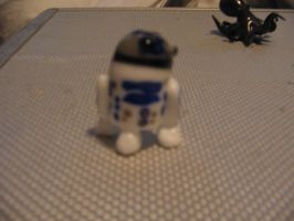 Glass R2-D2 by ROFL-BOT