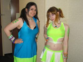 Anime Boston 2011 Rave Girls by nerd-princess