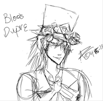 Blood Dupre fanart WIP by crimson-bones