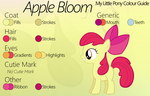 Colour Guide - Apple Bloom by Liggliluff