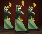 Kyoshi Dance Troop by Whyte-Tyger