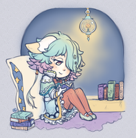 CM :: Little Bookworm by kinies