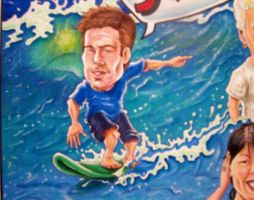 Big Surf caricature detail 2 by ccobb1234
