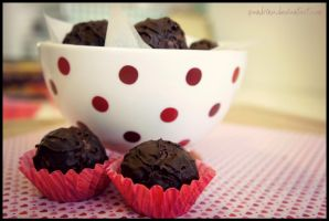 Butter - Cacao nibs - Truffles by pandrina