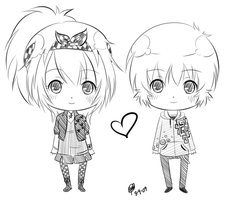 Chibi - Nagisa Sora MOE by Sweet-n-Spicy-Tea