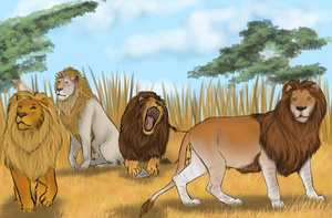 Lioden Males by ArsenicLaced-Estate