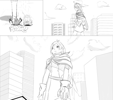 [Request] Trucy Wright giantess pt 1 by asciizack