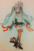 Two Breaths Walking: Miku by Zorceus