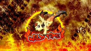 B-Day: Wild Fire Wallpaper by M24Designs