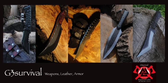 G3survival Knife Banner by G3survival