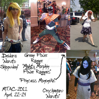 Random Collage-4 MTAC 2011 by Anime-Kat2002