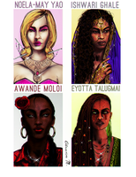 Mothers of Far Cry 3 \ 4 by Almesiva-Moonshadow