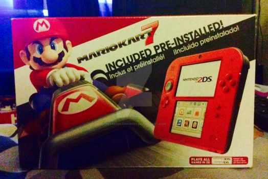 My 2DS received by BryanVelasquez87