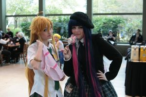 SC11: Panty and Stocking by Fold39Crane