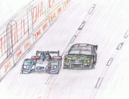 Fictional Baltimore GP Drawing: ALMS by K9RASArt