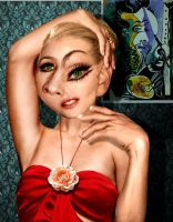 Madonna Picasso by funkwood