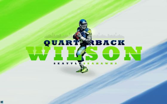 Russell Wilson by JamieKempDesigns