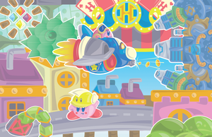 Kirby Print Series 2/7 - Resolution Road by OddPenguin