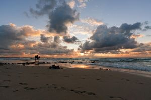 Evening on the Baltic Sea by khmaria