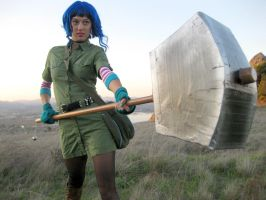 Me as Ramona Flowers 1 by LeilaniJoy