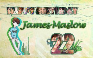 Happy B-day James Maslow by Lobalun