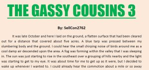 The Gassy Cousins 3 by SellCon2762