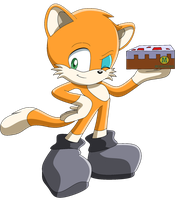 Stampy the Cat - Sonic style by Georgia-The-Hedgehog