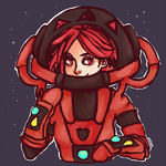 Flannery in a MAGMA SUIT by sheepiest
