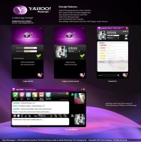 Yahoo Messenger Koncept 2010 by sparcz