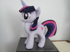 my little pony Twilight sparkle plush (commission) by Little-Broy-Peep