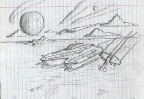 The UNSC Tepitz by Chris000