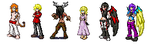 Second sprite sheet for Abyssmal Realms by AcerbusKeeper