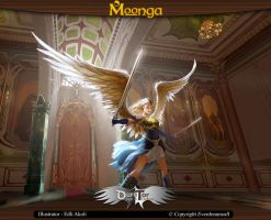 Moonga - Warrior Angel by moonga
