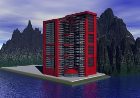 The Building - Luanda project 1 by Topas2012