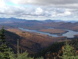 View from Whiteface Mtn, NY by C1nderellaMan