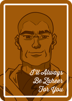 LoK Valentine's Cards - Zaheer by ShelbsTheGing