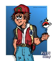 Pre-Comic Character Preview -  Pokemon Trainer by michaelheuvel