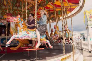Brighton pier rides by LJNPhotography
