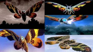 Mothra Over the Years by Angelgirl10