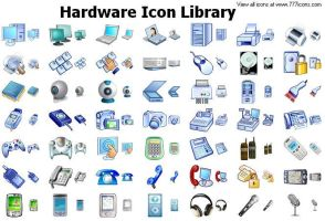 Hardware Icon Library by newroze