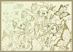 Fairyland - sketch by meago
