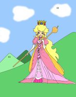 Queen Peach by LaserBehm89