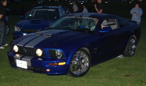 Midnight Mustang by homicidal45
