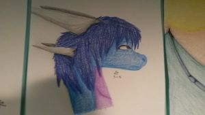 Realistic Dragon Thing by Azul-Assassin