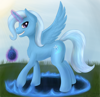 Alicorn Trixie_Kallisti IV Request by ImShySoIhide